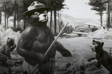 Cartoon Image of Smokey Bear/Smokey Bear: An American Icon