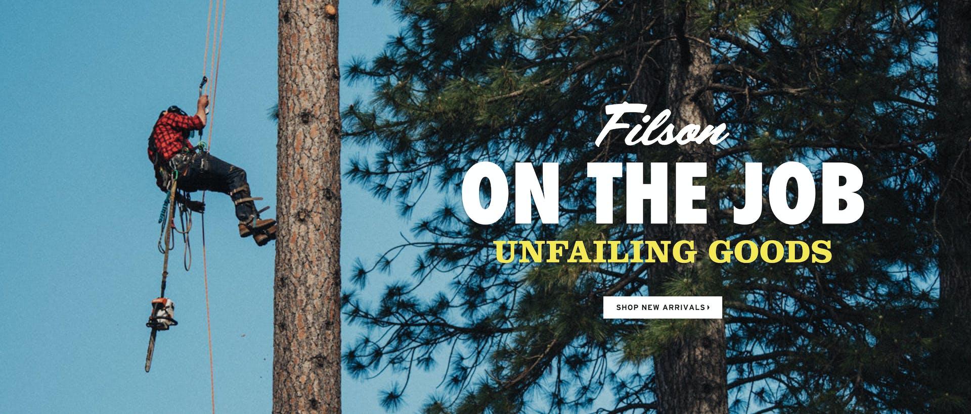 Filson Gear with Purpose Unfailing Goods Shop New Arrivals