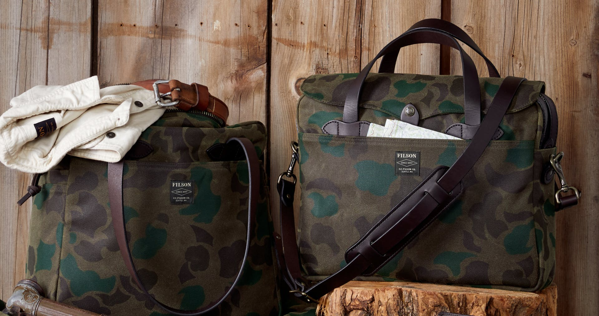 Waxed Rugged Twill Bags/Only 200 Made/Upping The Game/Shop Limited Edition Twill