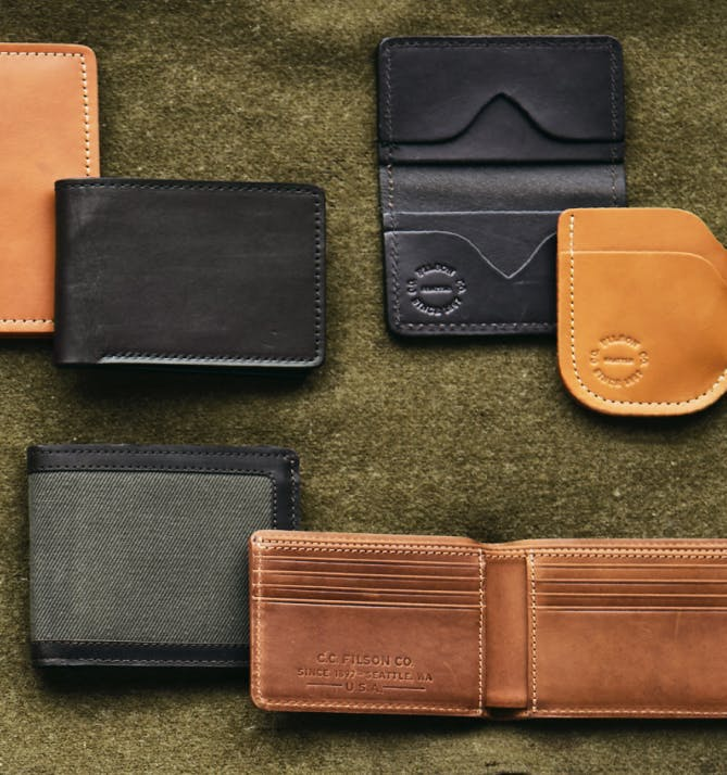 Filson Wallets and Card Cases