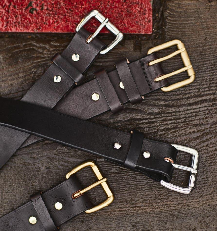 Filson Leather Belts