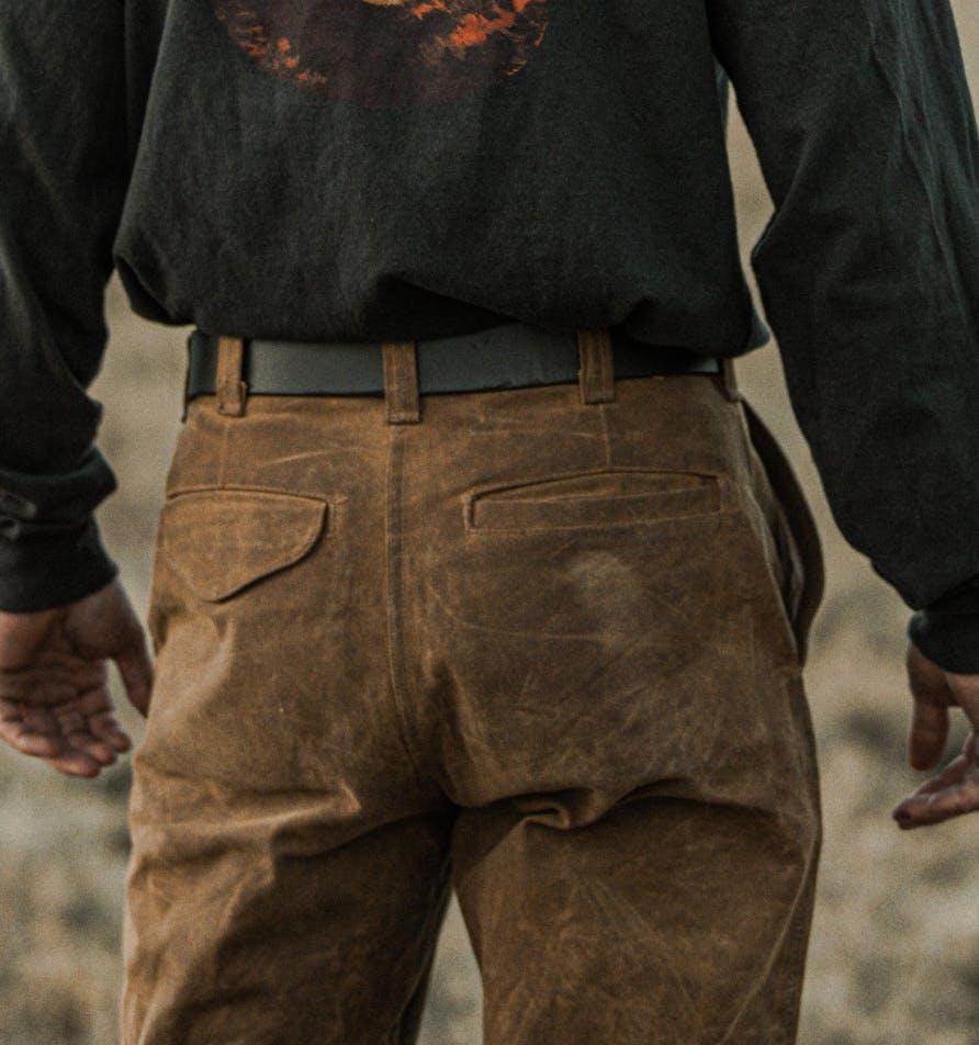 Filson tin Cloth trousers