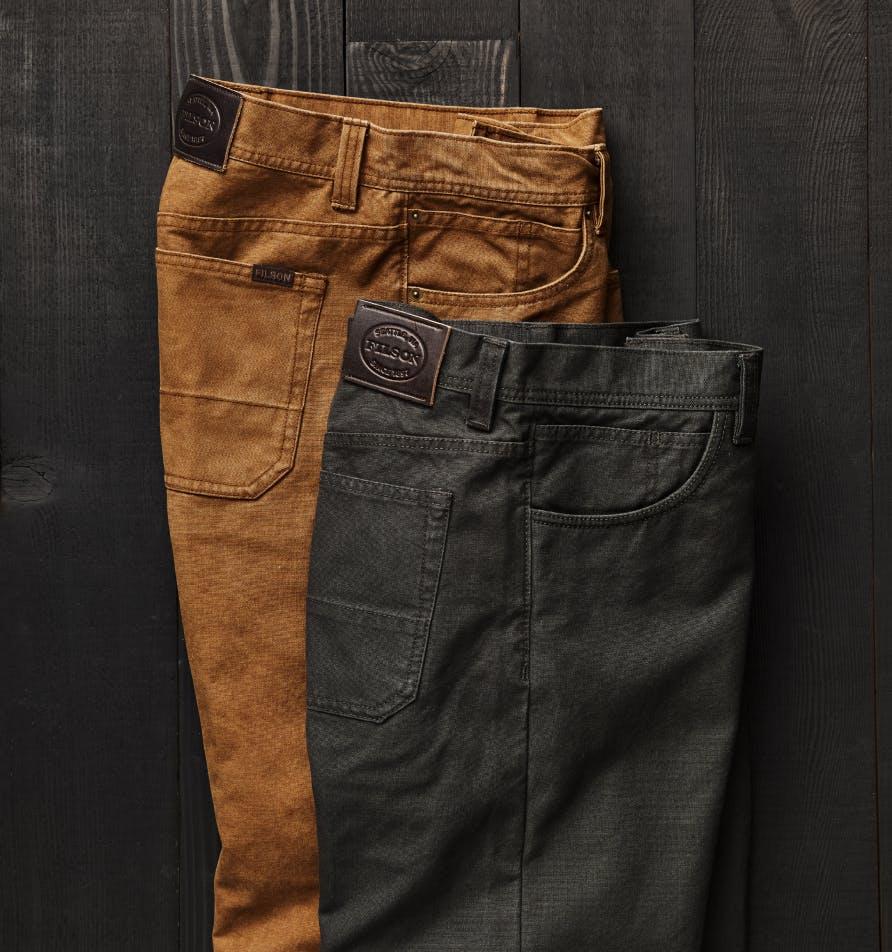Filson pants and shorts
