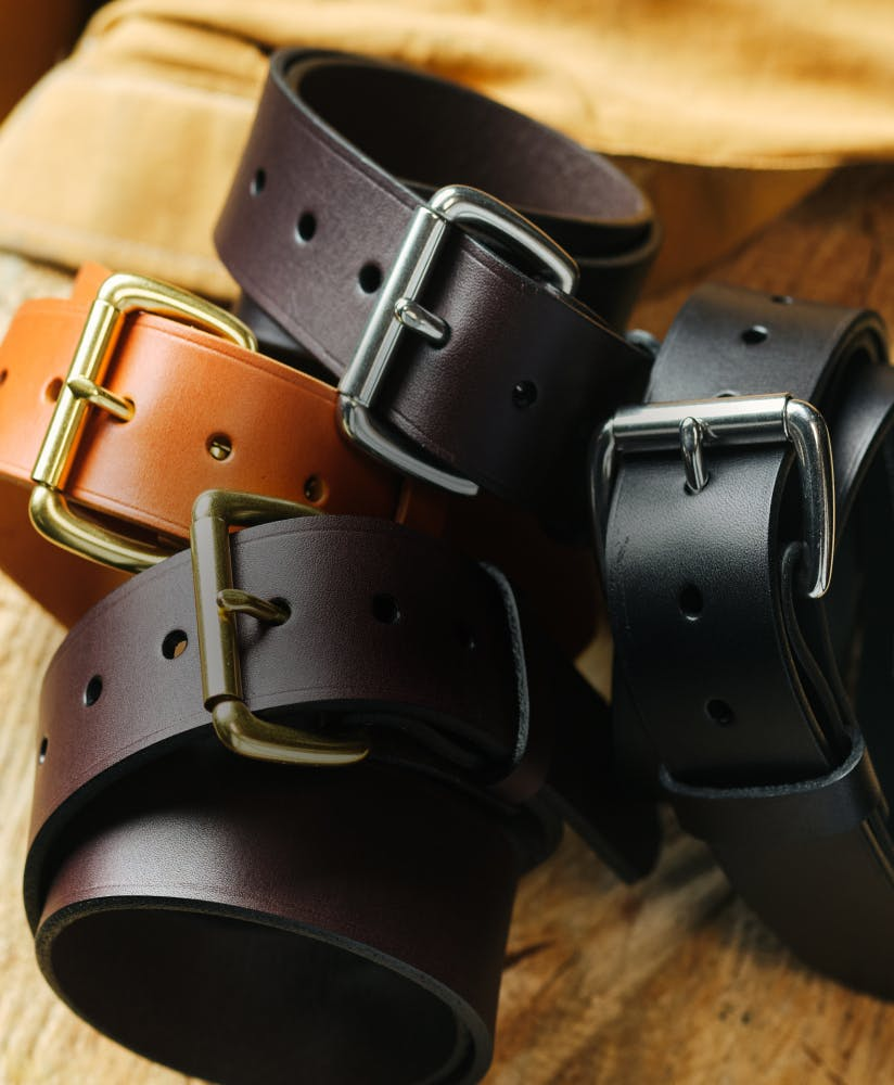 Filson Leather Belts
