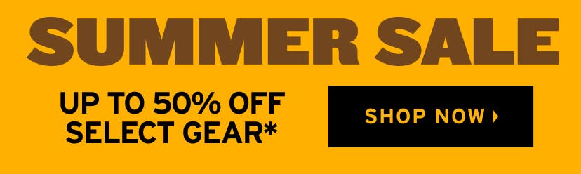 Summer Sale: Up To 50% Off Select Gear. Shop Now.