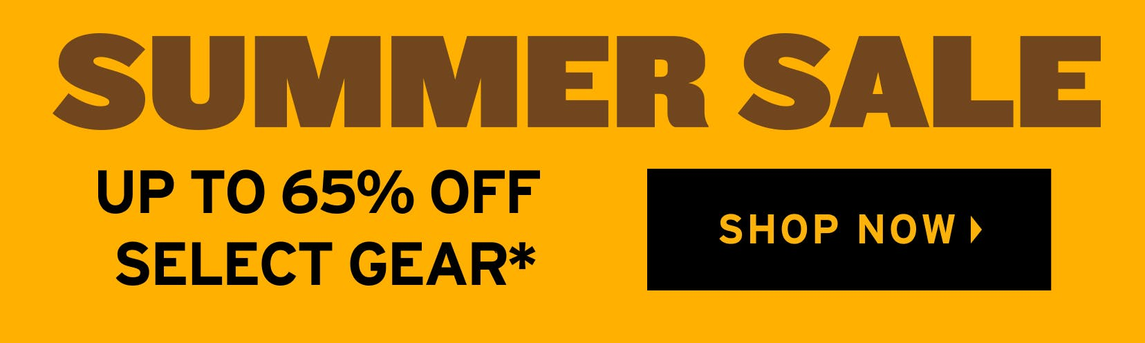 Summer Sale: At Least 65% Off Select Gear. Shop Now.