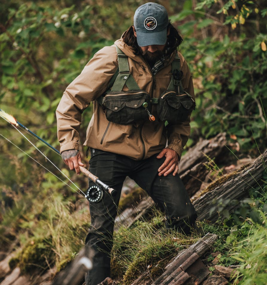 Filson fishing vests