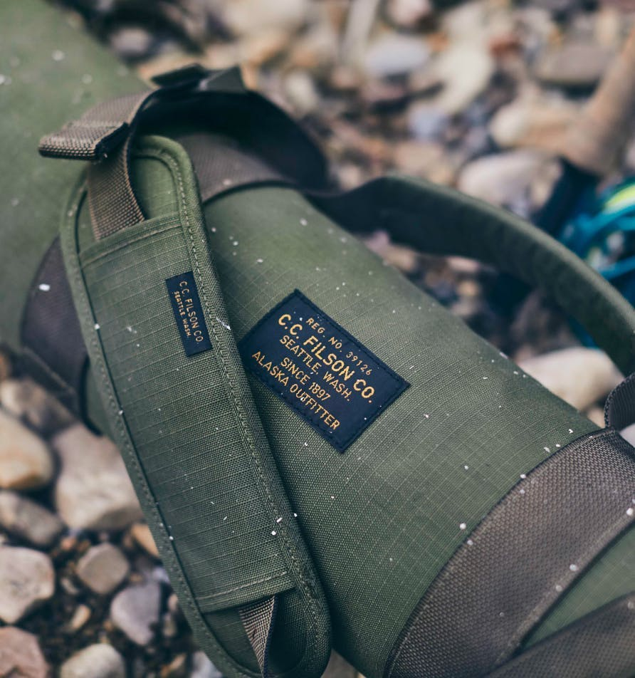 Filson Fishing rod cases and tubes