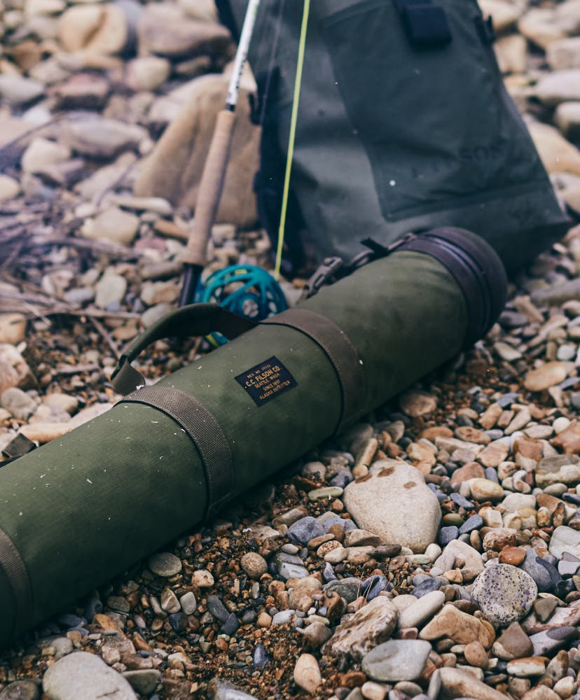 Filson Fishing rod cases