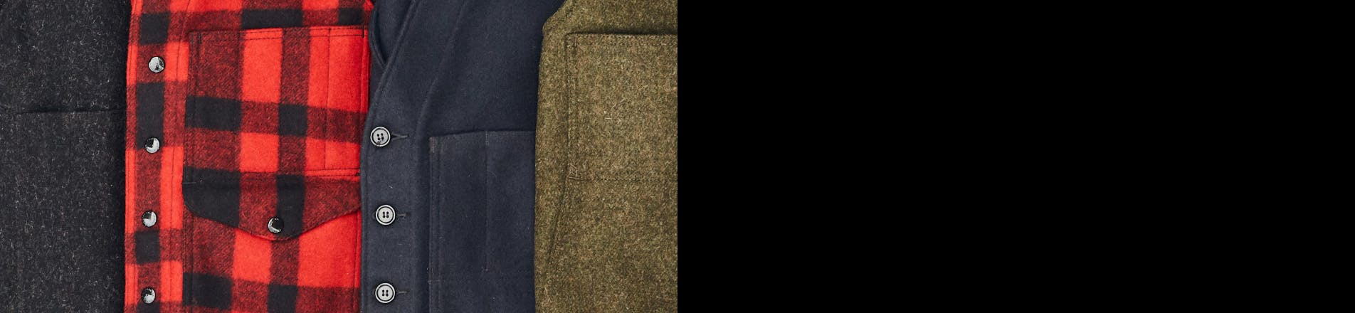 Filson Mackinaw Wool Collection