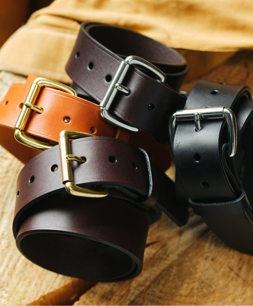 Filson Bridle Leather Belts